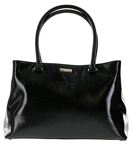 Kate Spade Bixby Place Elena Satchel Handbag in Black (001)