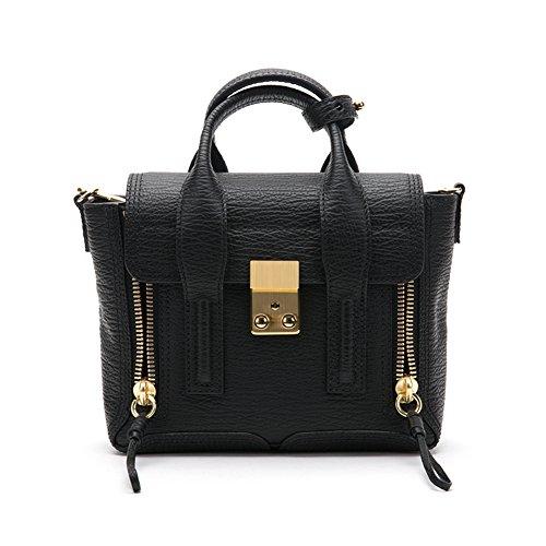 3.1 Phillip Lim Women's Pashli Mini Satchel bag AC00-0226SKC Black