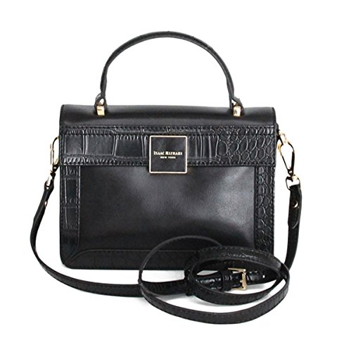 Isaac Mizrahi Designer Handbags: Leather Adele Crossbody