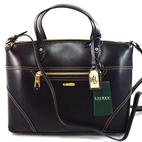 LAUREN Ralph Lauren Ashwell Convertable Satchel Bag, Black