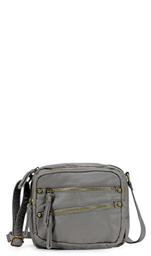 Scarleton Slanted Retro Zip Crossbody Bag H1827