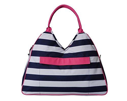 Weekender Bag for Women & Girls By Bayfield – Ladies Designer Large Weekend Tote