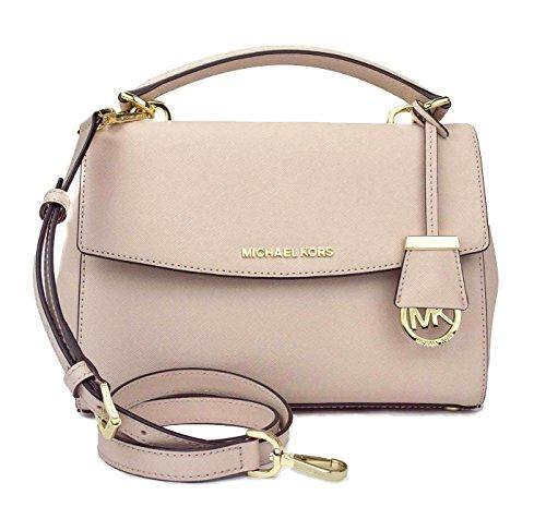 MICHAEL Michael Kors Ava Small Saffiano Leather Crossbody Satchel