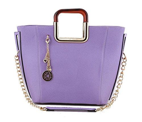 MyLux® Connection Shoulder Handbag K68037l (light purple)