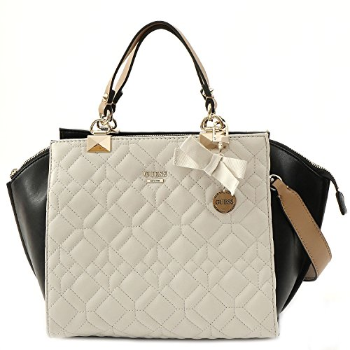 GUESS Women's Ines Chalk Multi Tote