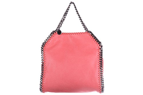 Stella Mccartney women's handbag tote shopping bag purse falabella pink