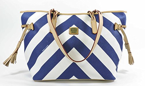 Dooney and Bourke Bailey Chevron Tote Bag Purse