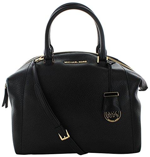 Michael Kors Riley Women's Large Leather Satchel Handbag Bag