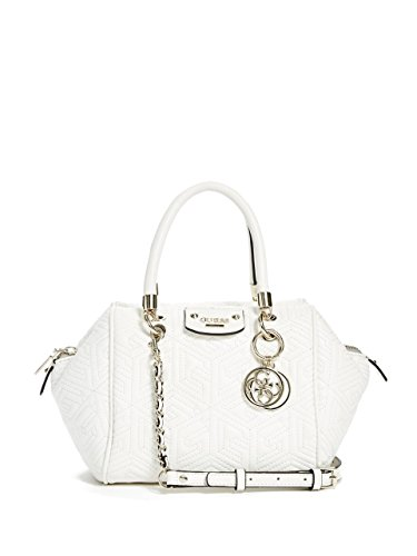 GUESS G Cube Quilted Small Satchel