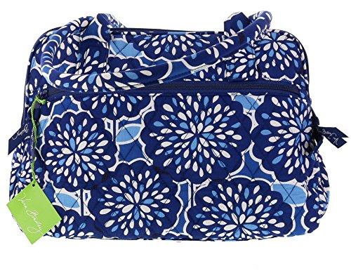 Vera Bradley Zip-Around Handbag Purse Shoulder Bag Satchel in Petal Splash