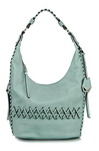 Jessica Simpson Tyson Whipstitch Hobo Shoulder Bag, Seafoam