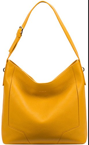 Furla Perla Medium Hobo Handbag Girasole