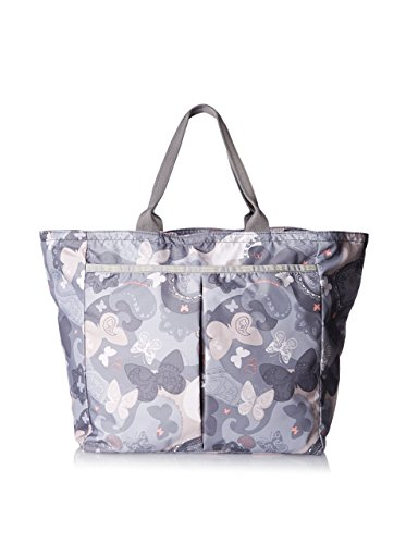 LeSportsac Women's Deluxe Everygirl Tote, All-A-Flutter