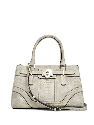 GUESS Greyson Matte Python-Embossed Small Satchel