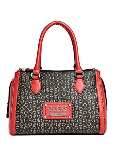 GUESS Proposal Satchel Bag Handbag, Natural Multi