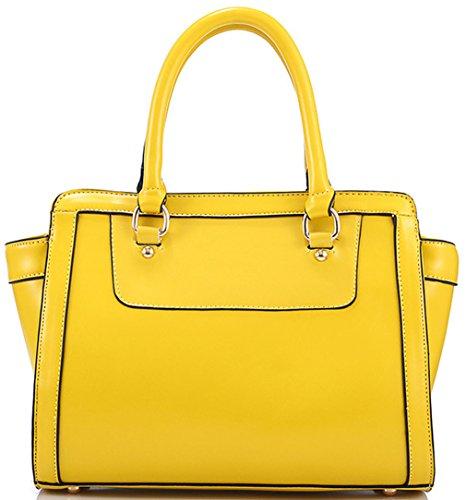 Heshe® New Lux Fashion Tote Top Handle Hobo Shoulder Bag Cross Body Purse Satchel Handbag Messenger Bag for Women