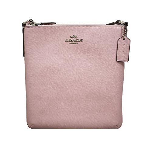 Coach Crossgrain North South Crossbody Handbag Petal