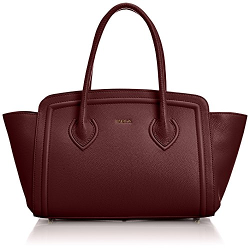 furla college M tote , dark red