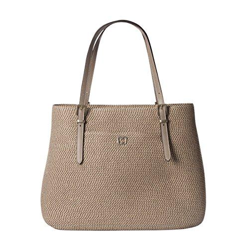 Eric Javits Designer Women's Handbag SQ Jav II Bag (Bark)