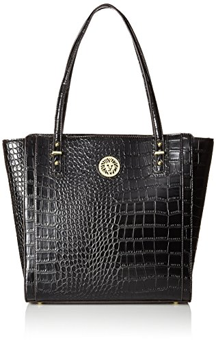 Anne Klein Front Runner Tote Bag, Black