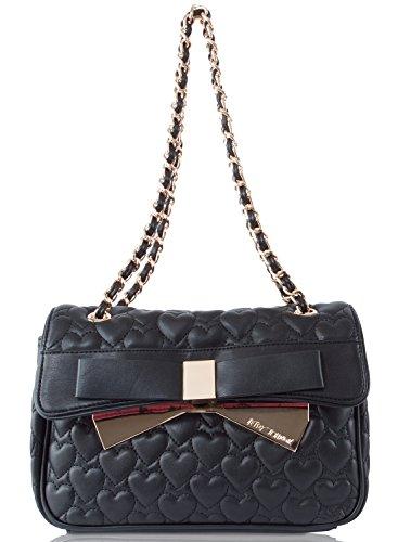 Betsey Johnson Be Mine Forever Flapover Shoulder Bag
