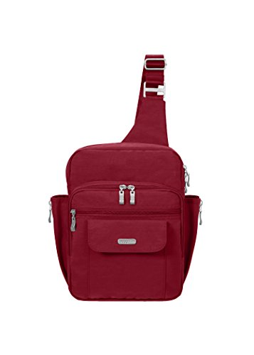 Baggallini Messenger Bagg, Apple, One Size