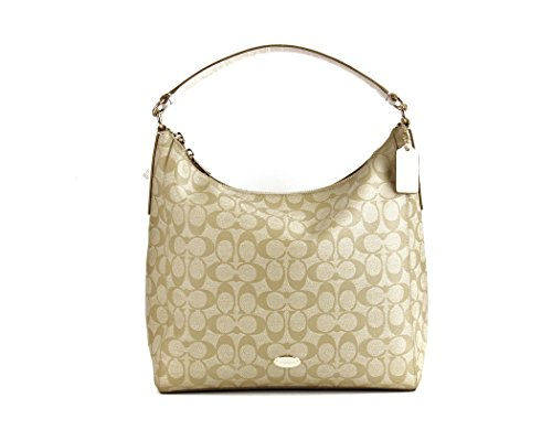 Coach Signature Celeste Convertible Hobo – Khaki/chalk