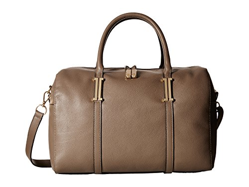 Ivanka Trump Hudson Barrel Satchel Pale Taupe Satchel Handbags