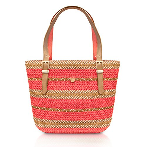 Eric Javits Women's Squishee Jav Handbag One Size (Guava Mix)