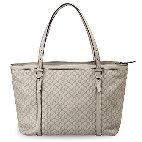 Gucci Leather Microguccissima Tote Handbag