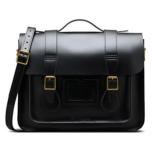 Dr. Martens Women's 15 In Leather Satchel