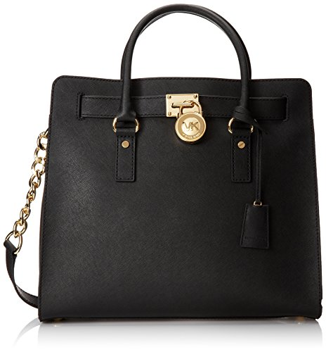MICHAEL Michael Kors Women's Hamilton Large N / S Tote, Black, One Size