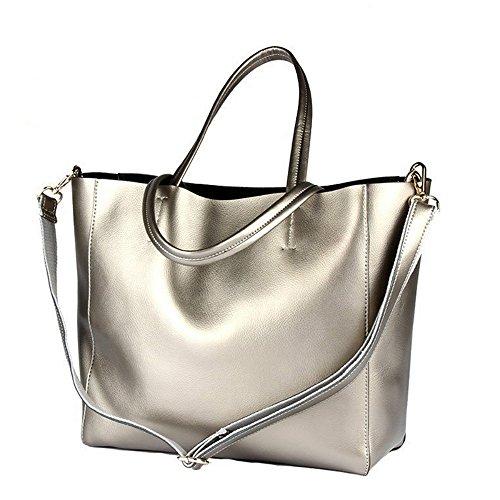 Women Genuine Leather Bags Women Large Shoulder Bags Designer Vintage Bag