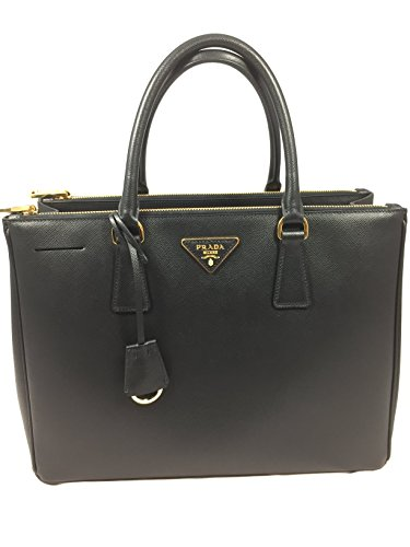 2016 Prada Saffiano Lux Double-zip Leather handbag