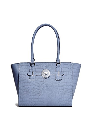 GUESS Women's Delrose Croc-Embossed Carryall