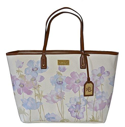 Lauren Ralph Lauren Womens Whitley Classic Tote Bag Purse