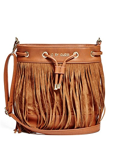 G by GUESS Women's Fringe Bucket Bag