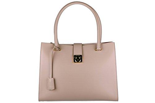 Salvatore Ferragamo women's leather shoulder bag original marlene beige
