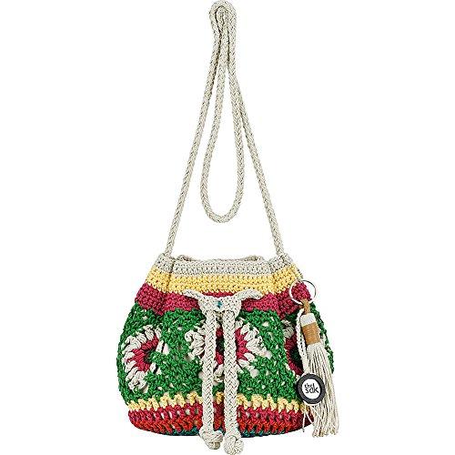 The Sak Moraga Crochet Drawstring Crossbody