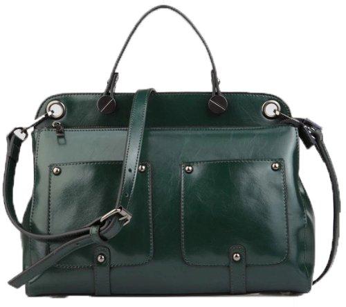 Ilishop Women's Green Famous Brand Handbag Shoulder Bag