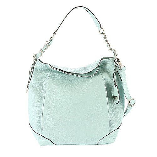Jessica Simpson Cindy Large Crossbody Hobo Seafoam