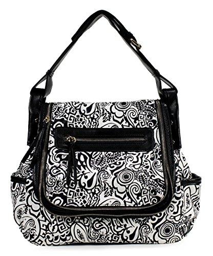 Scarleton Fashionable Floral Shoulder Bag H1758