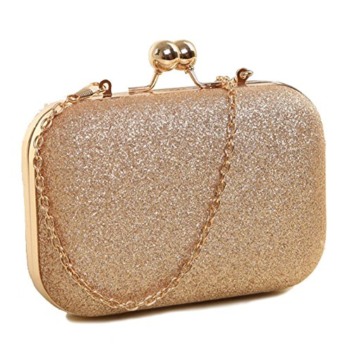 Indressme Womens Bling Clutch Handbag for Cocktail Evening Party