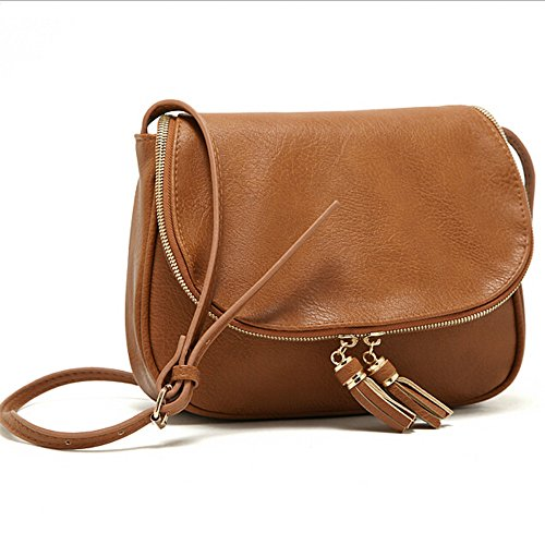 PU Leather Designer Tassel Women bag Leather Handbags Cross Body Shoulder Bags Fashion Messenger Bag