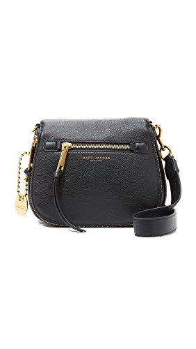 Marc Jacobs Recruit Small Saddle Bag Cross Body Black