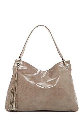 HOBO Vintage Linden Leather Hobo Shoulder Bag, Stone