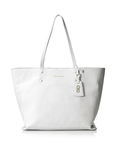 Cole Haan Women's Hannah Tote, Optic White