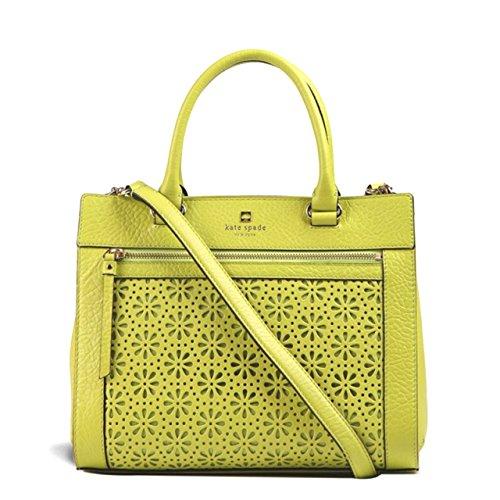 Kate Spade Romy Perri Lane Leather Satchel Shoulder Bag Handbag in Tbccoleaf (344)
