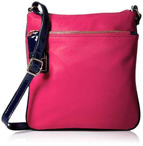 Tommy Hilfiger Faye Nylon Crossbody Bag, Pink, One Size