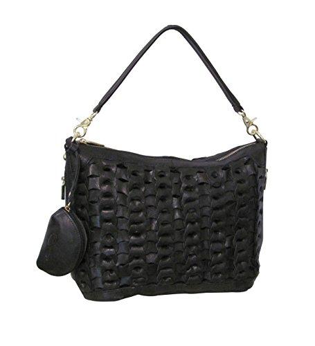 Amerileather Dixie Leather Handbag (#1791-0)